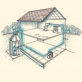 Монтаж водопровода в частном дома своими руками