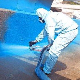 Гидроизоляция сливных ям и бассейнов краска для разметки дорог сертификаты