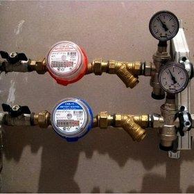 Картинки по запросу установка счетчиков воды