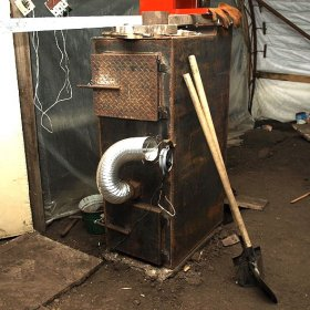 Пиролизная печь на шинах своими руками чертежи и принцип работы 107