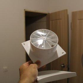 Установка вентилятора в туалете своими руками