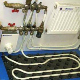 Комбинированное отопление: построение системы «радиаторы плюс теплый пол»
