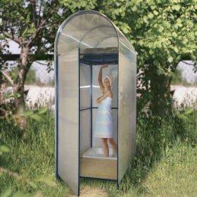 Летний душ своими руками — пошаговое возведение каркасной конструкции