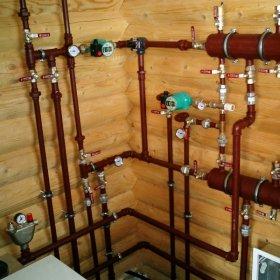 Водяное отопление в частном доме — обзор правил устройства качественной системы на основе котла