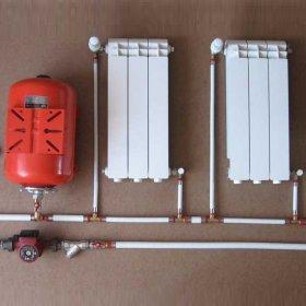 Двухтрубная система отопления частного дома — краткий обзор устройства и принципов монтажа