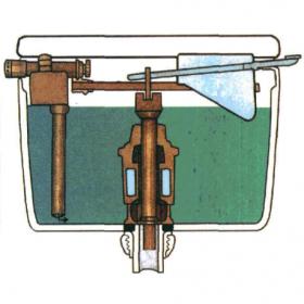 Устройство сливного бачка унитаза: как работает сливная конструкция и из чего она состоит?