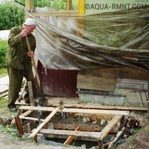 Как сделать выгребную яму видео фото 835