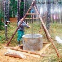 Колодец своими руками — инструкция для самостоятельного строительства