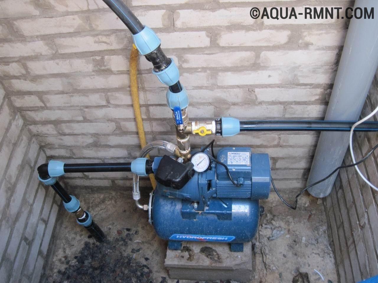схема водопровода в частном доме видео