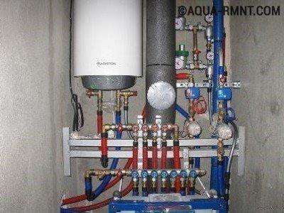 Схема обвязки настенного котла отопления