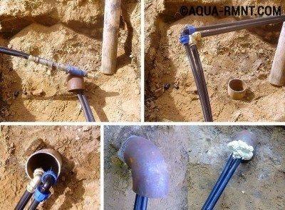 Соединение элементов трубопровода