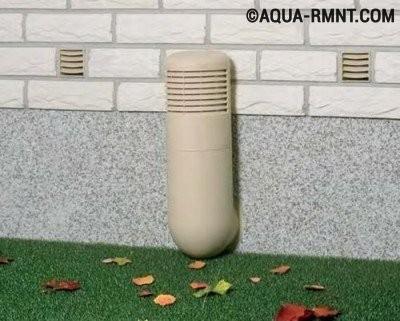 Устройство вентиляции канализации в частном доме