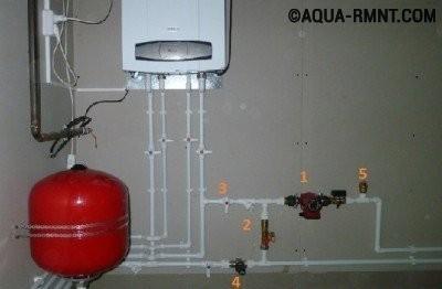 Насос в системе водоснабжения