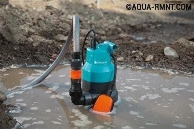 Как выбрать дренажный насос для грязной воды