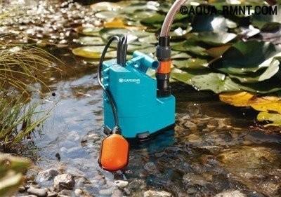 Как работает дренажный насос с системой аквасенсор