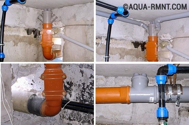 канализации в частном доме