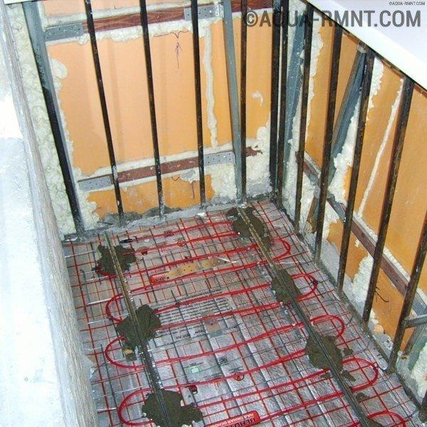 Теплый пол на балконе и лоджии: разбор 3-х самых популярных вариантов устройства