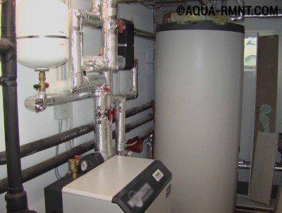 Водяное отопление гаража может быть автономным