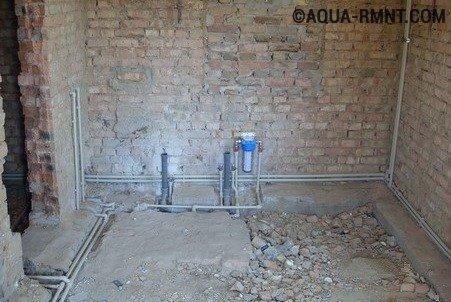 схемы водопроводные трубы