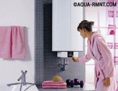 Перед тем, как запустить накопительный водонагреватель, откройте кран для горячей воды