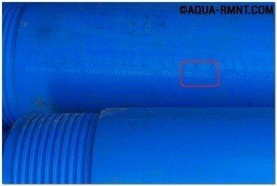 Пластиковые трубы для скважины безопасны и просты в монтаже