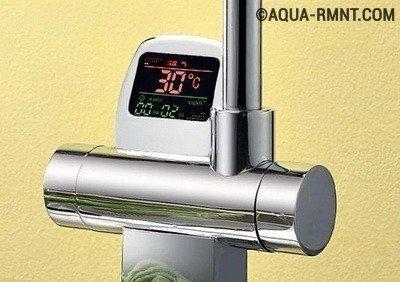 Электронный смеситель с термостатом - практично и удобно