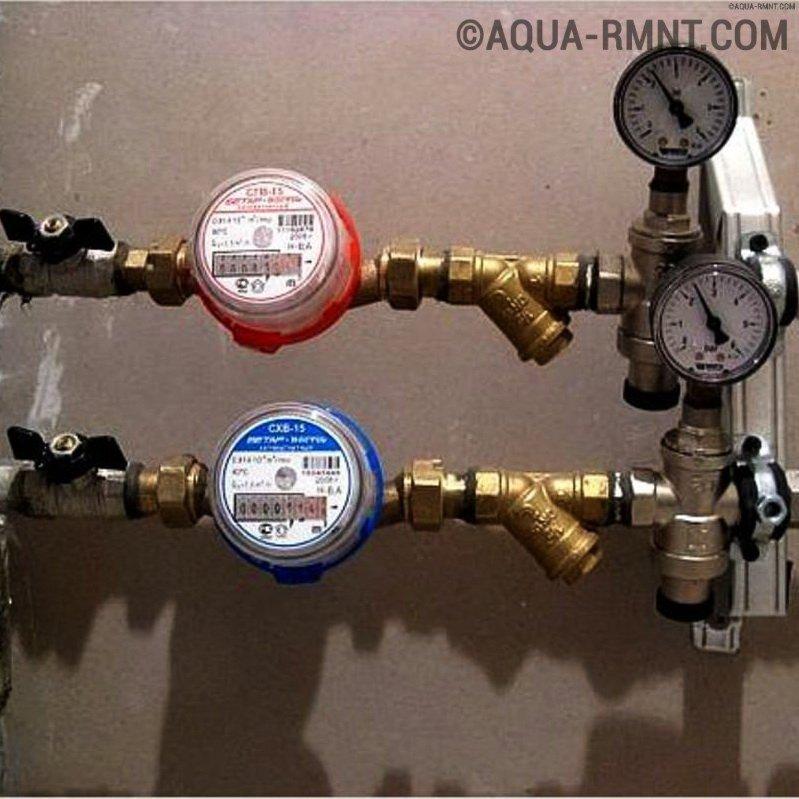 Правила и порядок установки счетчиков на воду: как правильно поставить и опломбировать