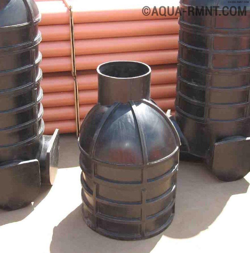 Смотровой колодец для канализации или дренажа — вопросы по устройству и монтажу
