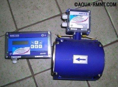 Электромагнитный счетчик воды