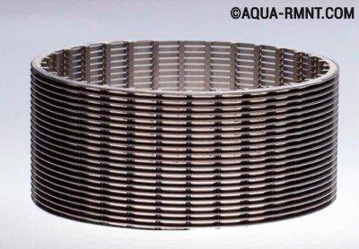 Изготовление фильтра для скважины: проволочная система