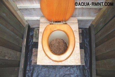 Какой глубины должна быть яма под туалет