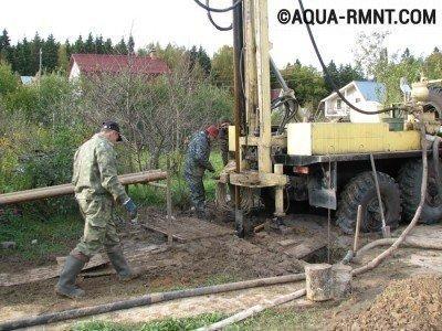 Бурение скважины на участке: нужно обеспечить достаточно свободного места для техники