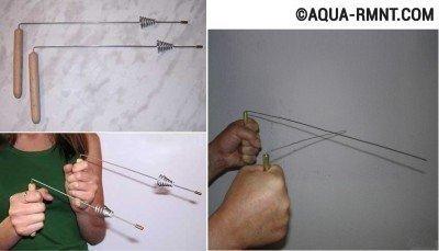 Как найти воду для скважины: используем метод биолокации