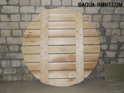 Деревянный донный щит