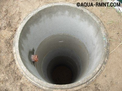 Емкость для септика из бетонных колец