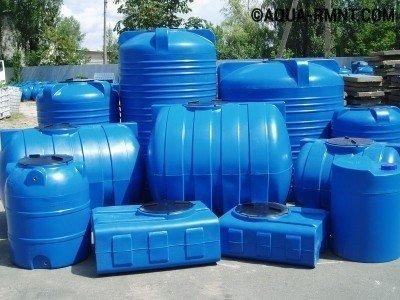 Пластиковые емкости под септик