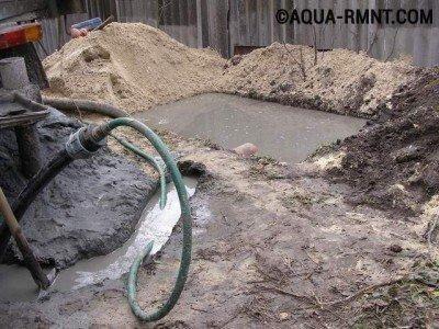 Прокачка скважины: правильно отводим грязную воду