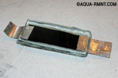 Самодельный обогреватель из стеклянных пластин