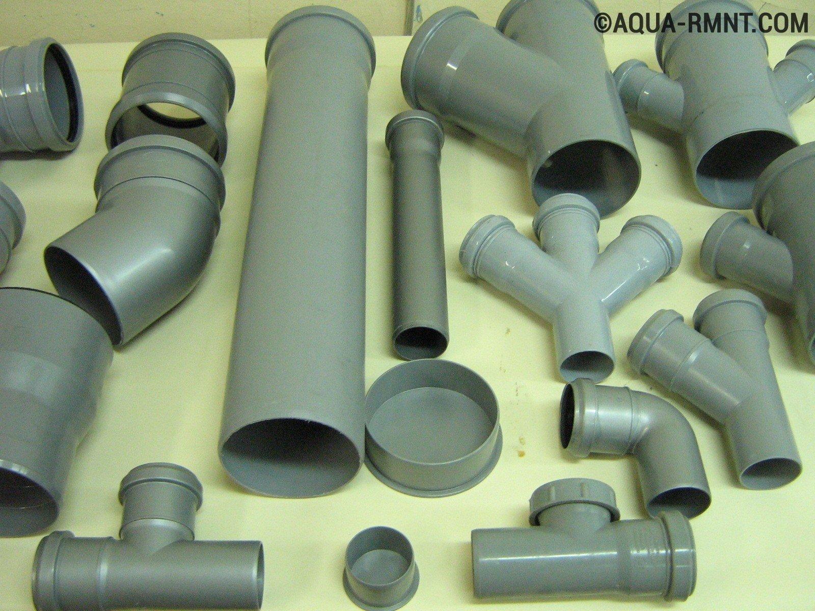 схема сливной трубы