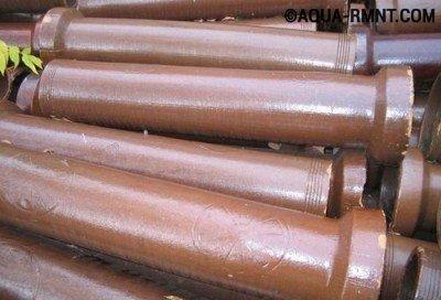 Замена труб канализации в квартире на керамические