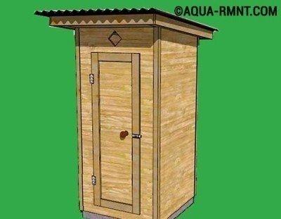 Как установить туалет на даче
