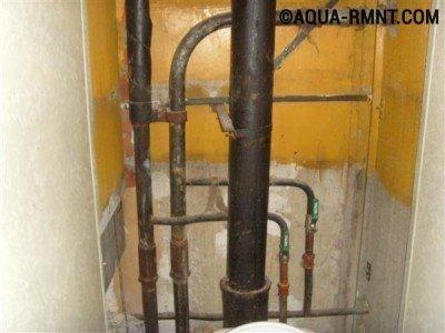 Самостоятельная замена стояка водоснабжения