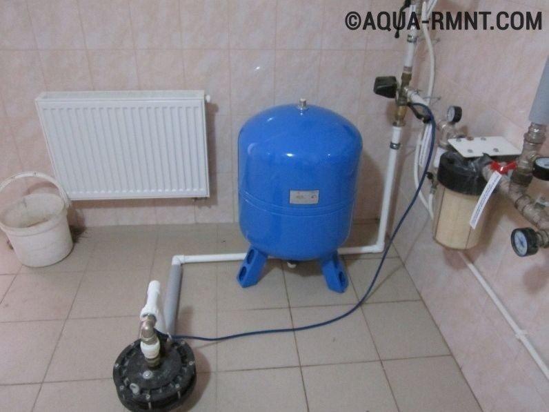 Ремонт систем водоснабжения своими руками