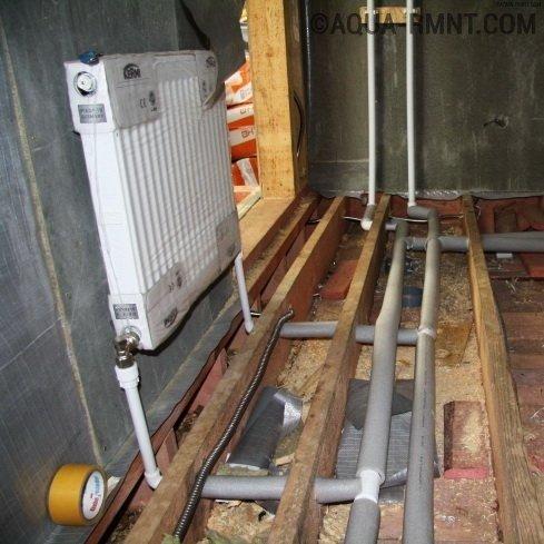 Однотрубная система отопления частного дома — общие вопросу по устройству