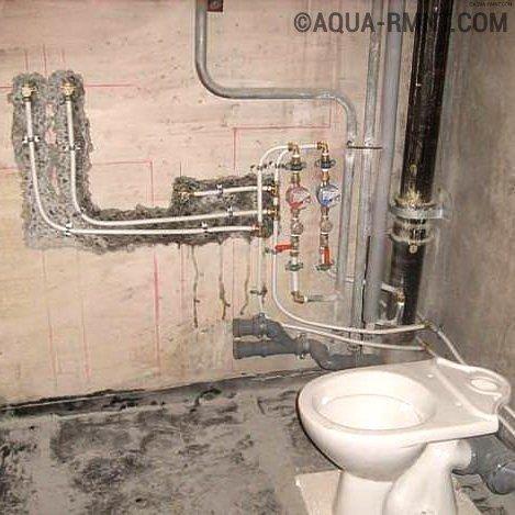Замена стояков водоснабжения в квартире — с чем придется столкнуться?