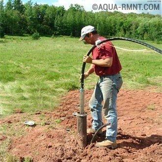 Установка насоса в скважину: технология самостоятельного монтажа и замены в случае ремонта
