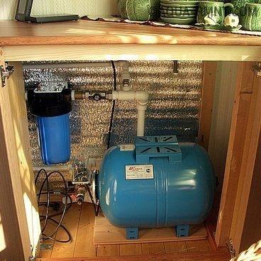 Водопровод на даче из колодца: разбор составляющих компонентов системы