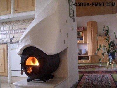 Печное отопление: современный дизайн