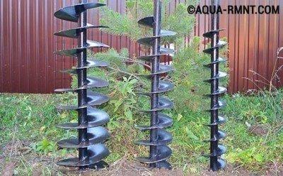 Ручное бурение скважин на воду: шнековый способ