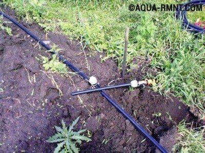 Водопровод на даче из колодца: летний вариант